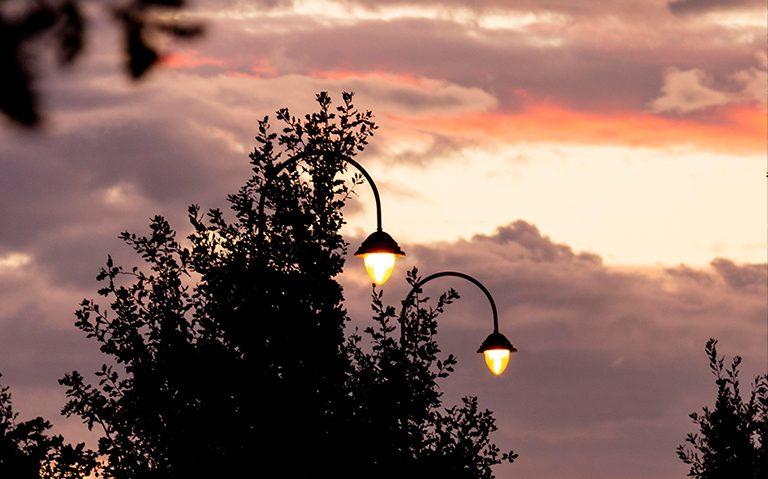 Windsor Urban Cashmere street lighting