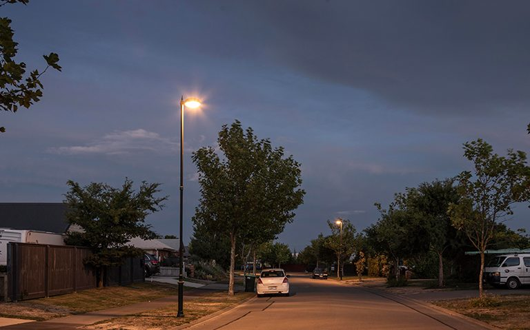 Windsor Urban Halswell street lighting