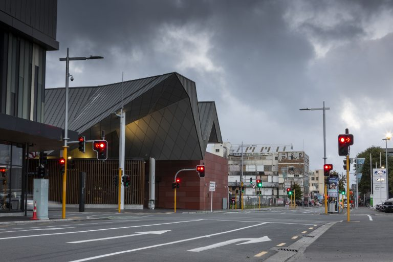 Christchurch cbd street and urban lighting