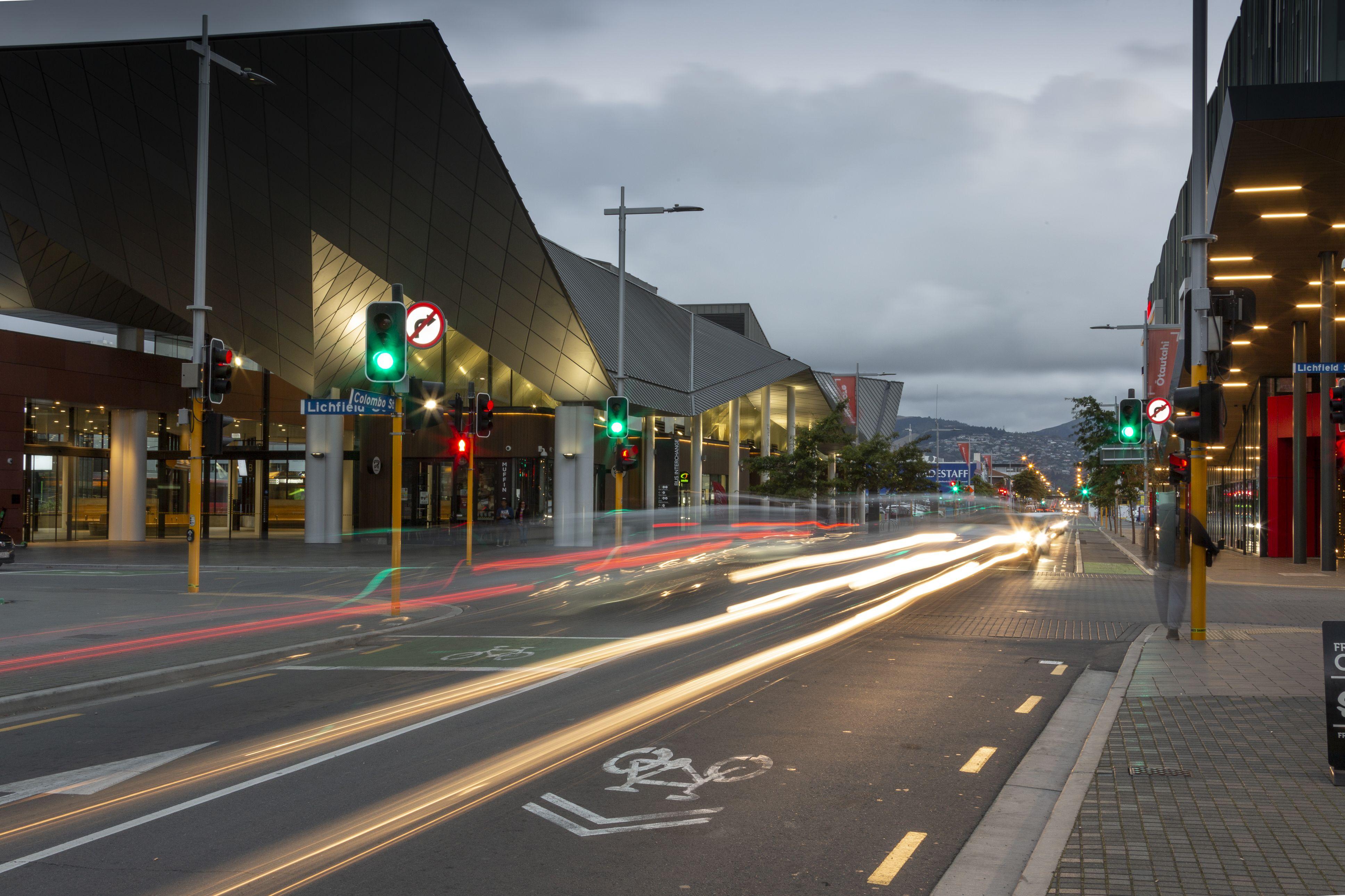 Christchurch cbd street lighting provided by Windsor Urban