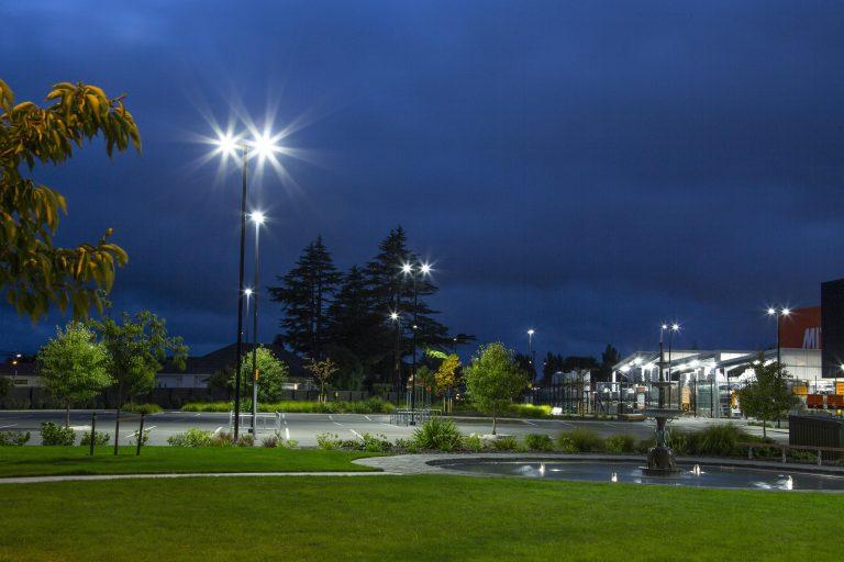 Windsor Urban car park lighting Mitre 10 Papanui
