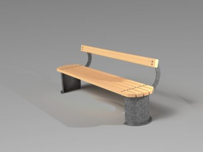 Windsor Urban street bench