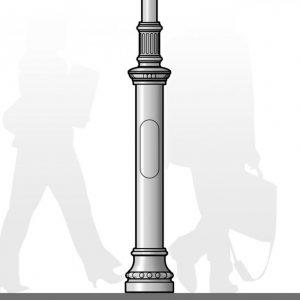 Windsor Urban Kai Puke street pole and column decoration