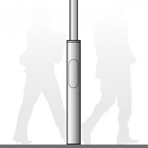 Windsor Urban Stepped street pole and column base