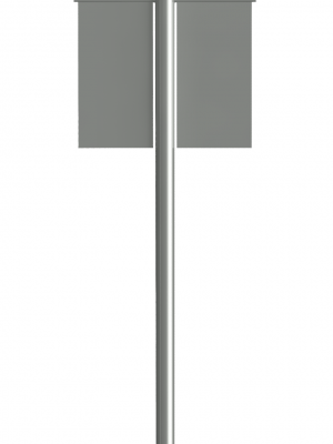 Windsor Urban Tamaki street pole and column signage
