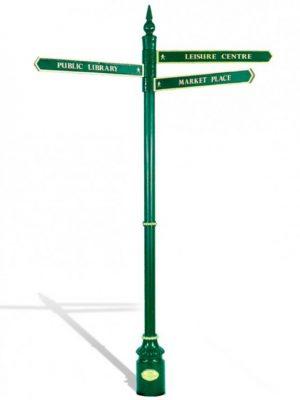 Windsor Urban Hau green signage system