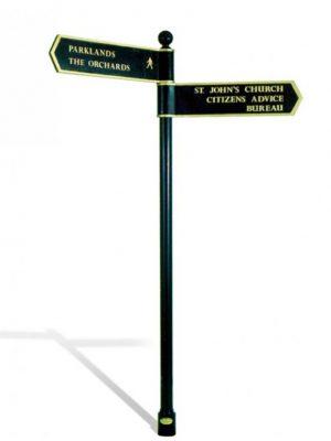 Windsor Urban Eltham signage system